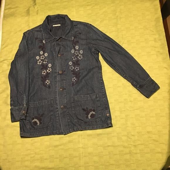 "ba1fc35ec1b Alexa Chung Jackets   Blazers - ""Alexa Chung for Ag"" light denim jacket"